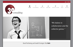 39 Consulting Website by Boomient