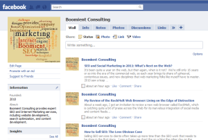 add blog to facebook page