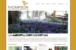 Thompson Landscaping Website WordPress